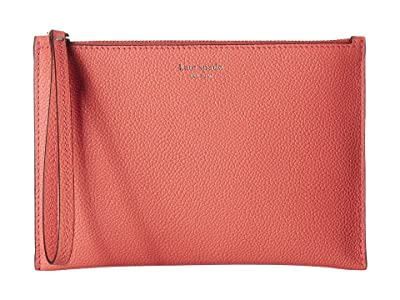 Kate Spade New York Margaux Small Wristlet (Peachy) Clutch Handbags