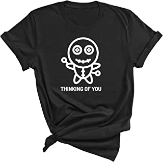 Voodoo Doll Thinking About You Funnt Sarcastic Urban Humorous T-Shirt