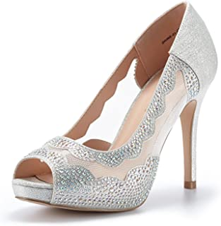 DREAM PAIRS Women's Divine-01 High Heels Dress Pump Shoes