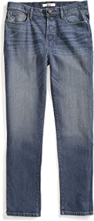 Tommy Hilfiger Men's Adaptive Jeans Relaxed Fit Adjustable Waist Magnet Buttons