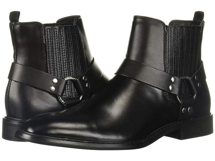 Mens Retro Shoes | Vintage Shoes & Boots Steve Madden Auras Black Mens Boots $74.52 AT vintagedancer.com