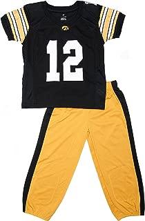 FAST ASLEEP Iowa Hawkeyes Uniform Pajama Set New