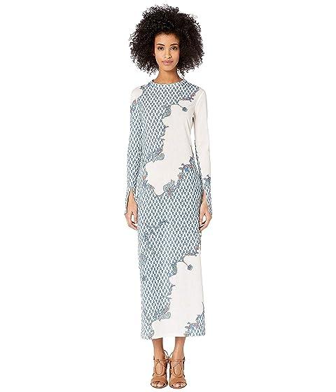 YIGAL AZROUËL Paisley Printed Jersey Dress
