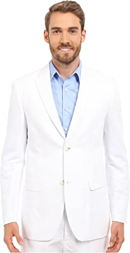 Perry Ellis Linen Suit Jacket