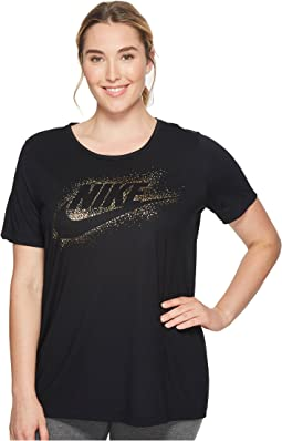 Nike - Sportswear Essential Metallic Top (Size 1X-3X)