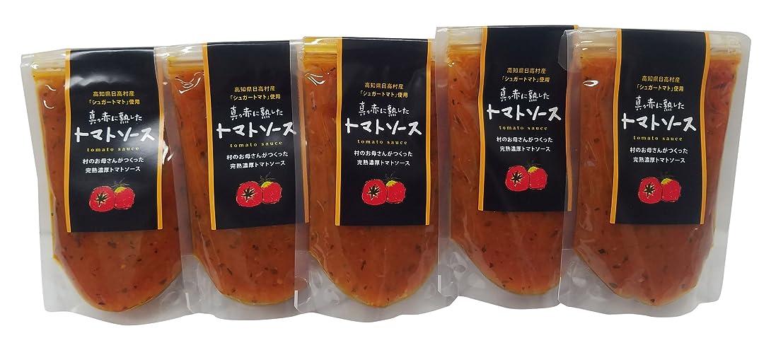 真っ赤に熟したトマトソースセット 100g×5個入り