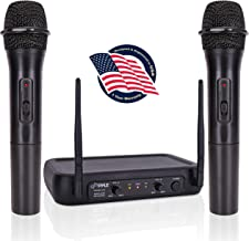 Dual Channel Wireless Microphone System - VHF Fixed Dual