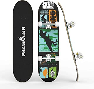 PHNHOLUN Skateboard Complete 31