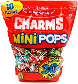 Charms Mini Assorted Pops, 300 Pops Included