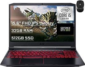 "Flagship Acer Nitro 5 Gaming Laptop 15.6"" FHD IPS Display 10th Gen Intel 4-Core i5-10300H (Beat i7-8750H) 32GB RAM 512GB S..."