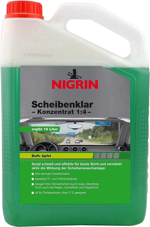 Nigrin 73134 Scheibenklar Konzentrat 1 4 Kirsch Minze 3 Liter Auto
