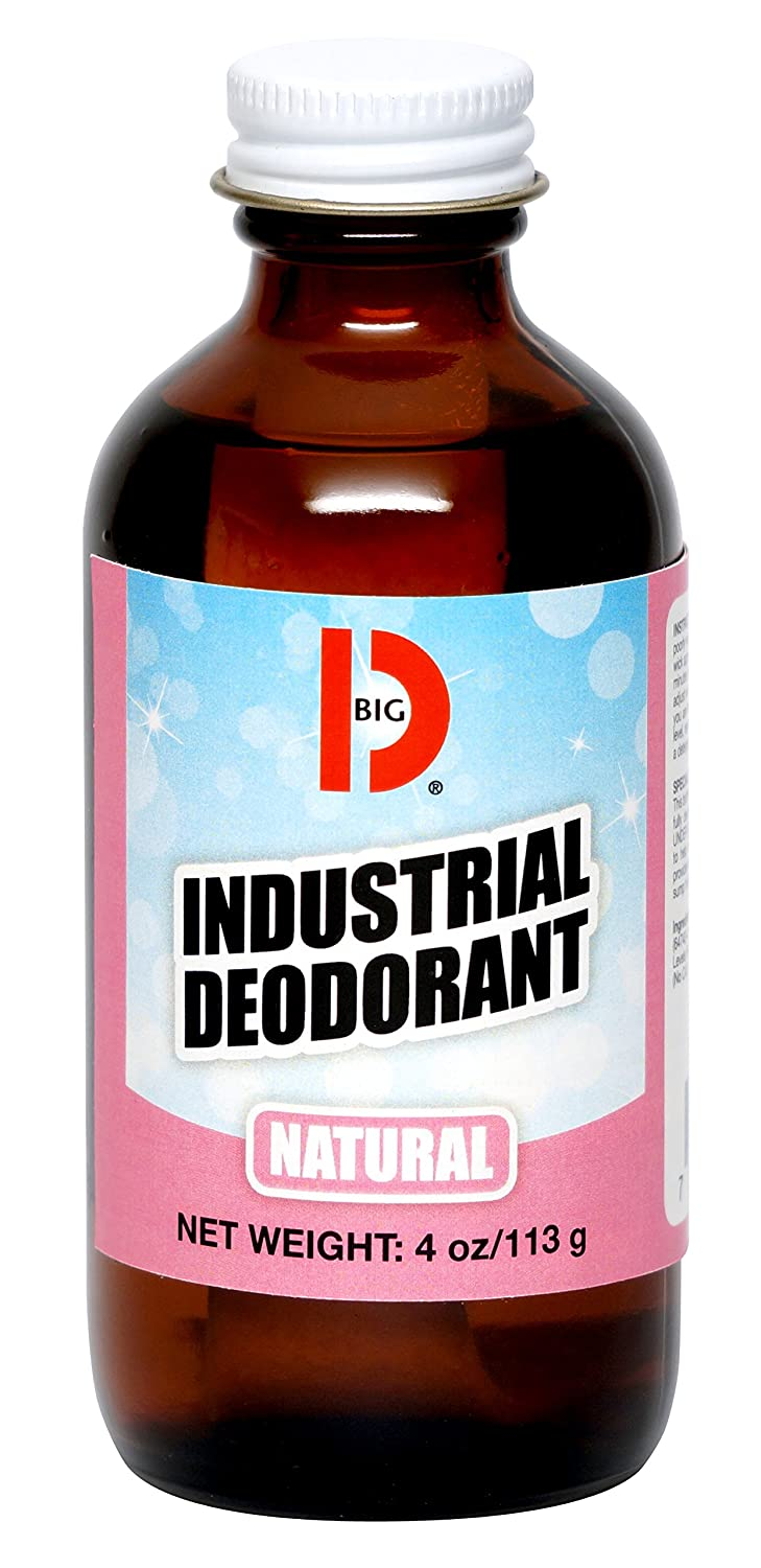 Big D 310 Industrial sold out Deodorant Natural Pack Don't miss the campaign oz of Fragrance 4