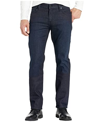 7 For All Mankind Standard Classic Straight (Blue Bison) Men
