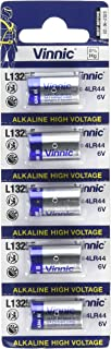 Vinnic A28PX 5 pcs 6V Replacement Alkaline Batteries (L1325, 4LR44)