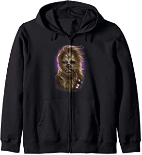Star Wars Chewbacca Windswept Portrait Zip Hoodie