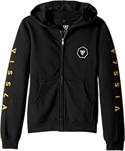 VISSLA Kids - Swellbow Full Zip Hooded Fleece (Big Kids)