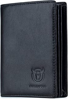 Mens Leather Wallet RFID Blocking Bifold Secure Stylish Multi Credit Card Holder