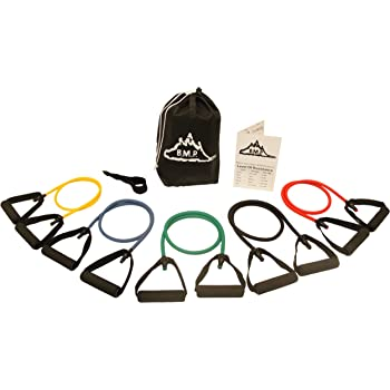 Black Mountain Products Resistance Band Set Five Bands Included Amazon Co Uk Sports Outdoors
