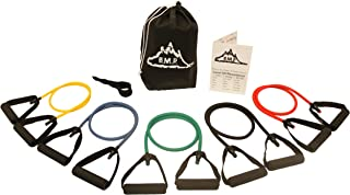 Black Mountain Products Exercise Resistance Band, Pack of 5