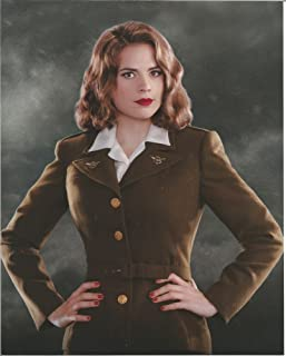Captain America Hayley Atwell miliary uniform 8 x 10 inches Costume Test  Photo  2 436be0890f87