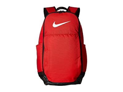 Nike Brasilia Extra Large Backpack (University Red/Black/White) Backpack Bags