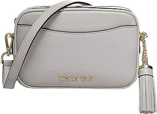 Michael Kors Women's Pebbled Leather Convertible Belt Bag Cream