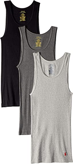 Classic Fit w/ Wicking 3-Pack Tanks