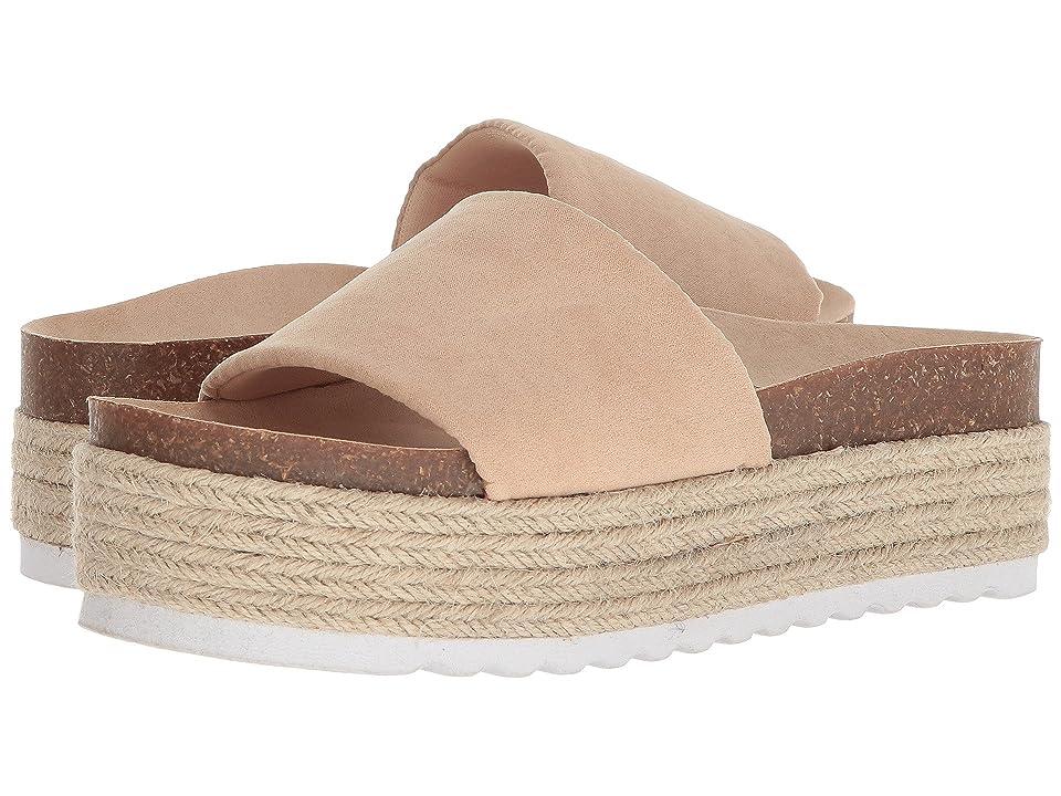 Dirty Laundry Pippa Platform Sandal (Sand Microsuede) Women