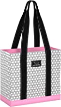 SCOUT DJ Bag Expandable Shoulder Tote with Side Snaps, Travel Carry-on, Zipped Pockets, Quilted Liner, Water Resistant