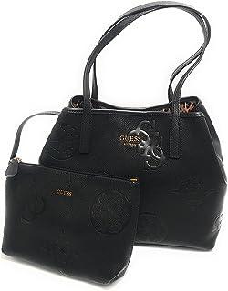 Guess Borsa donna vikky roo tote con pochette nero embossed B22GU110 DB699523