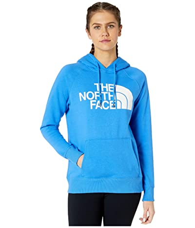 The North Face Half Dome Pullover Hoodie (Clear Lake Blue) Women