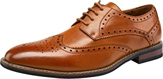 Men's Dress Shoes Wingtip Brogue Oxford Classic Formal Shoes for Men Business Derby Shoes