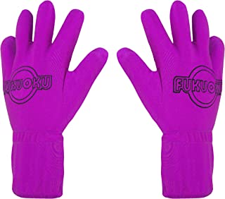 Fukuoku Right and Left Handed Five Finger Vibrating Massage Glove Kit, Fits Small To Medium, Pink, 9.55 Pound