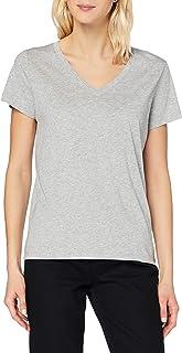 Lee V Neck tee Camiseta para Mujer