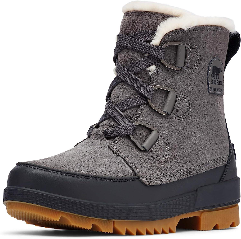 SOREL Women's Tivoli IV Boot — Quarry — Waterproof Winter Boots — Size 11