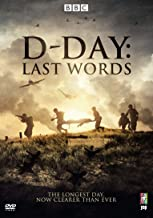 D-Day75:Last Words onthe LongestDay(DVD)