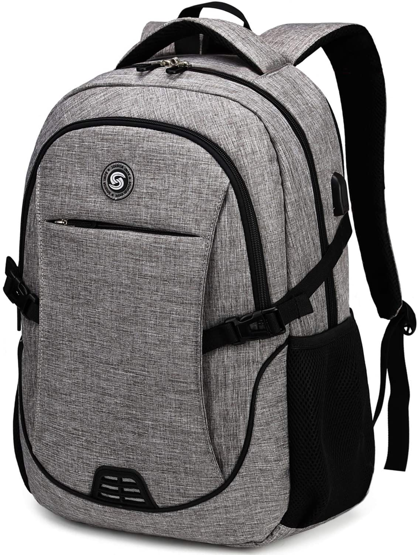 SHRRADOO unisex Anti Theft Laptop Backpack Bookbag wit Max 68% OFF Travel Backpacks
