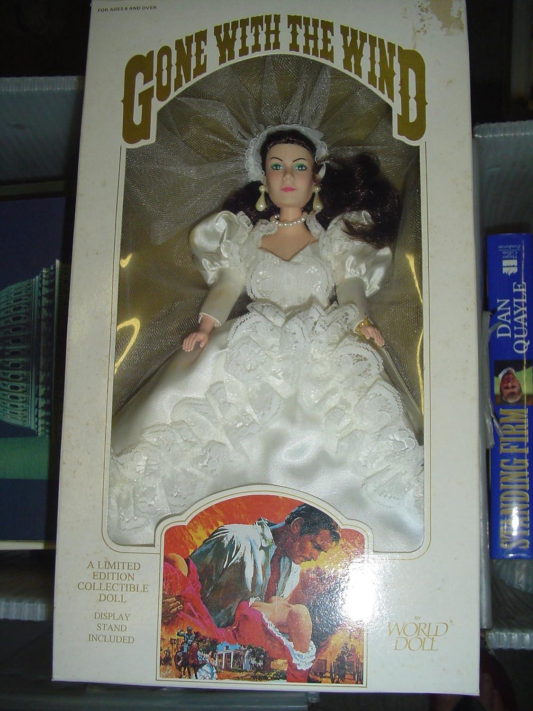 World Doll Scarlett O'hara in Wedding Wedding Wedding Dress, Gone