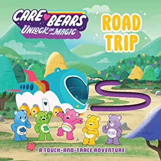 Road Trip: A Touch-and-Trace Adventure (Care Bears: Unlock the Magic)