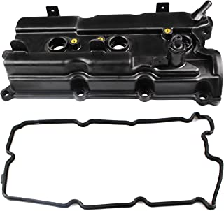 BOXI Valve Cover w/Gasket & Spark Plug Tube Seals Fits Right Side Rear Of 3.5L Engine Bay 2002-2004 Infiniti I35, 02-06 Nissan Altima, 02-08 Maxima, 03-07 Murano, 04-09 Quest (Replaces 132648J102)