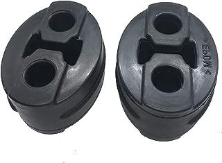 Exhaust Hanger Insulators Auto Parts Bushing Muffler Reduce Vibration Mount Bracket 12mm ID 2 Holes Vehicle's Hangers, Pack of 2