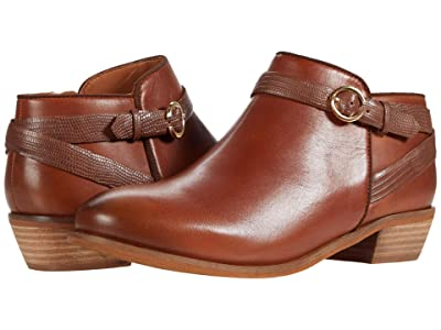 SoftWalk Raven (Brandy Leather/Lizard) Women