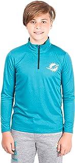 Ultra Game Boys` Quarter-Zip Active Pullover Shirt