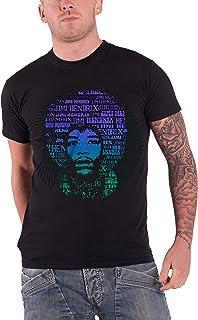 Jimi Hendrix ジミ・ヘンドリックス Afro Speech アフロ・スピーチ 公式 メンズ ブラック 黒 Tシャツ 全サイズ