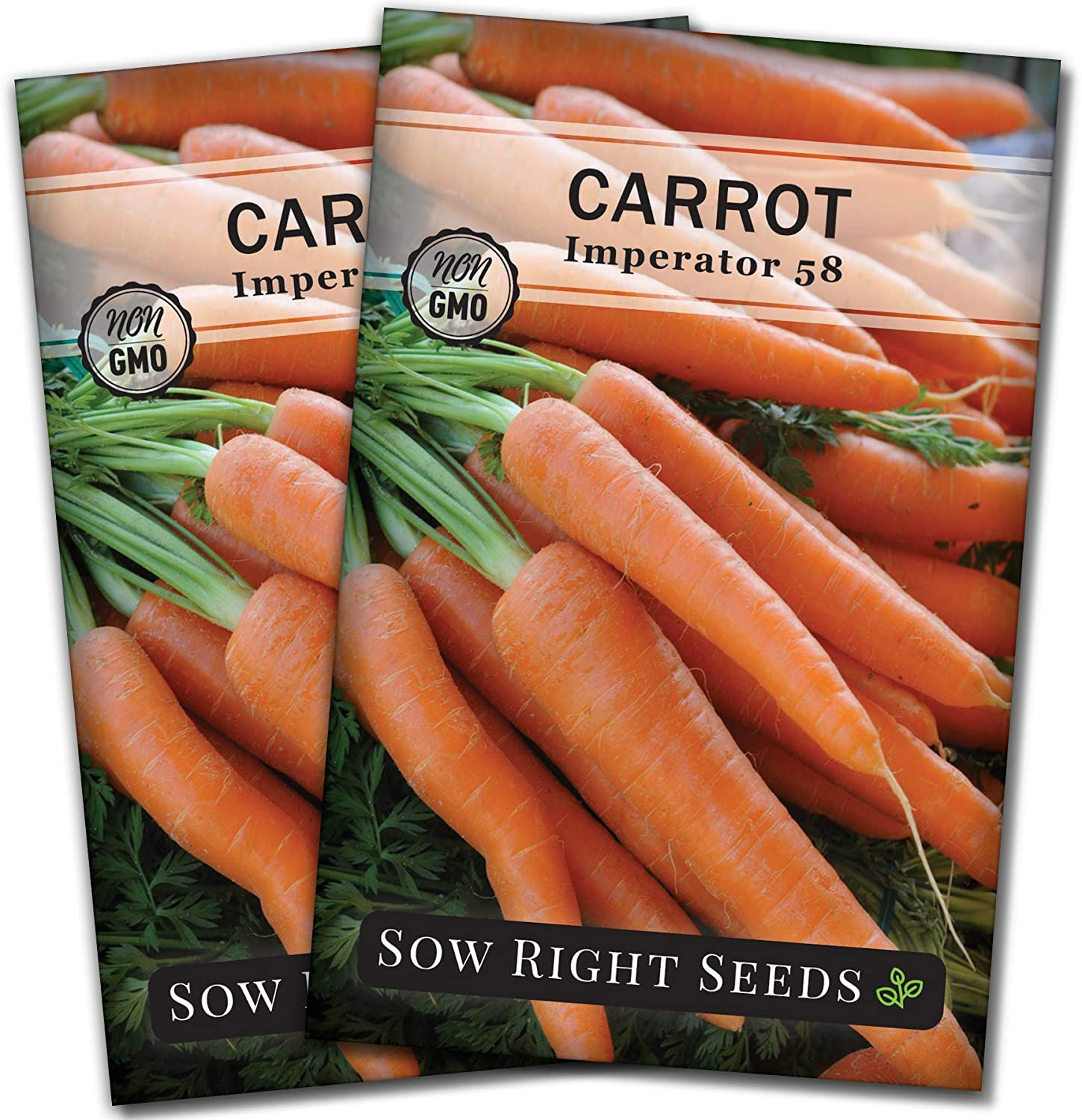 Amazon.com : Sow Right Seeds - Imperator 58 Carrot Seed for Planting -  Non-GMO Heirloom Packet with Instructions to Plant a Home Vegetable Garden,  Great Gardening Gift (1) : Garden & Outdoor