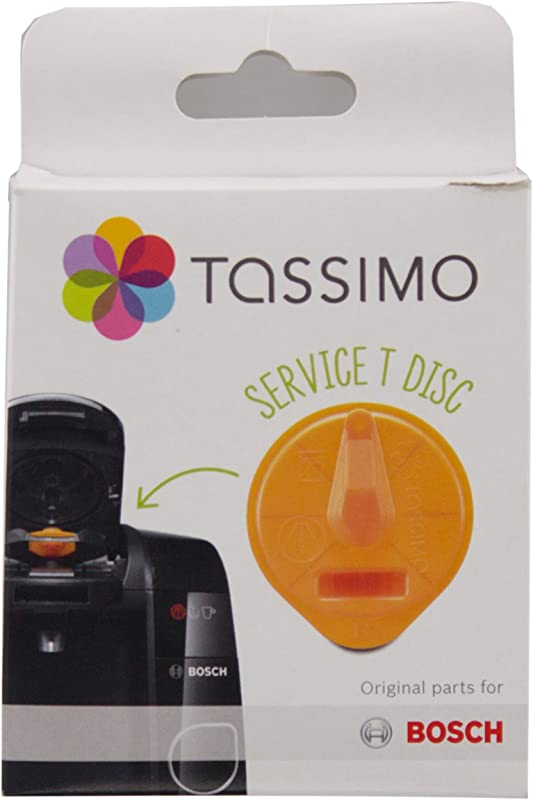 Tassimo Cleaning T Disc Bosch T43 T47 T55 Coffee Machines
