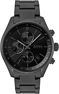 Hugo Boss Mens Quartz Watch, Chronograph Display and Stainless Steel Strap 1513676