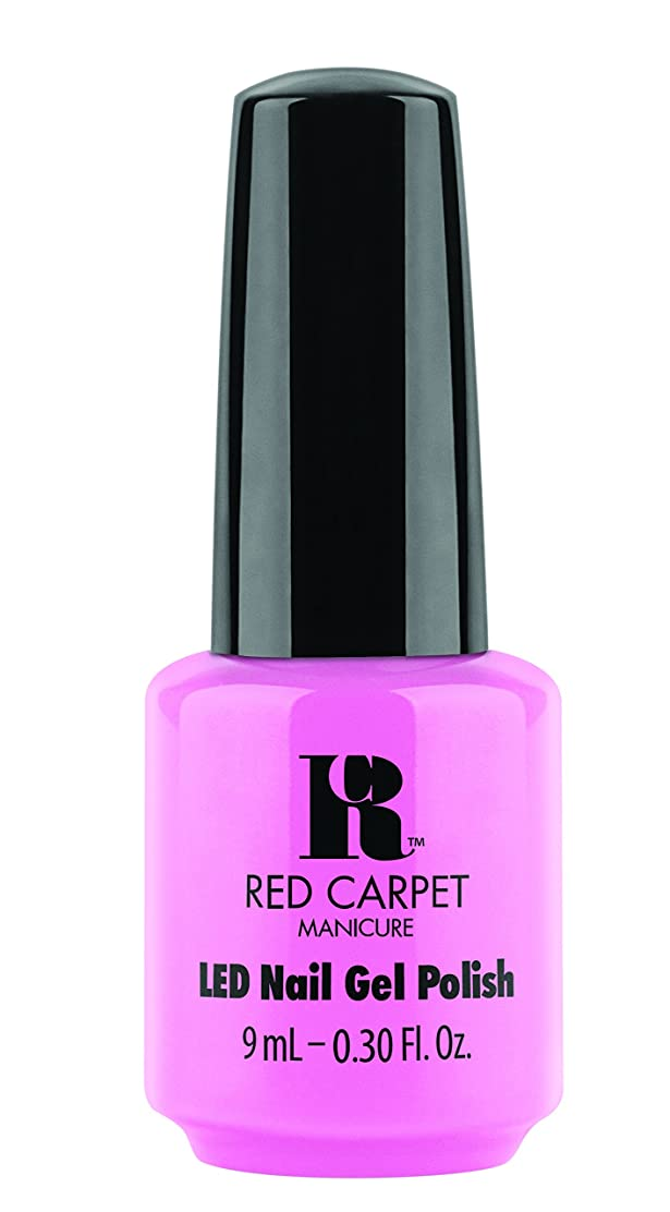 たらい敬の念距離Red Carpet Manicure - LED Nail Gel Polish - After Party Playful - 0.3oz / 9ml