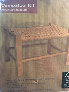 Scouts Woodcraft Campstool Kit - conforms to basketry merit badge 9