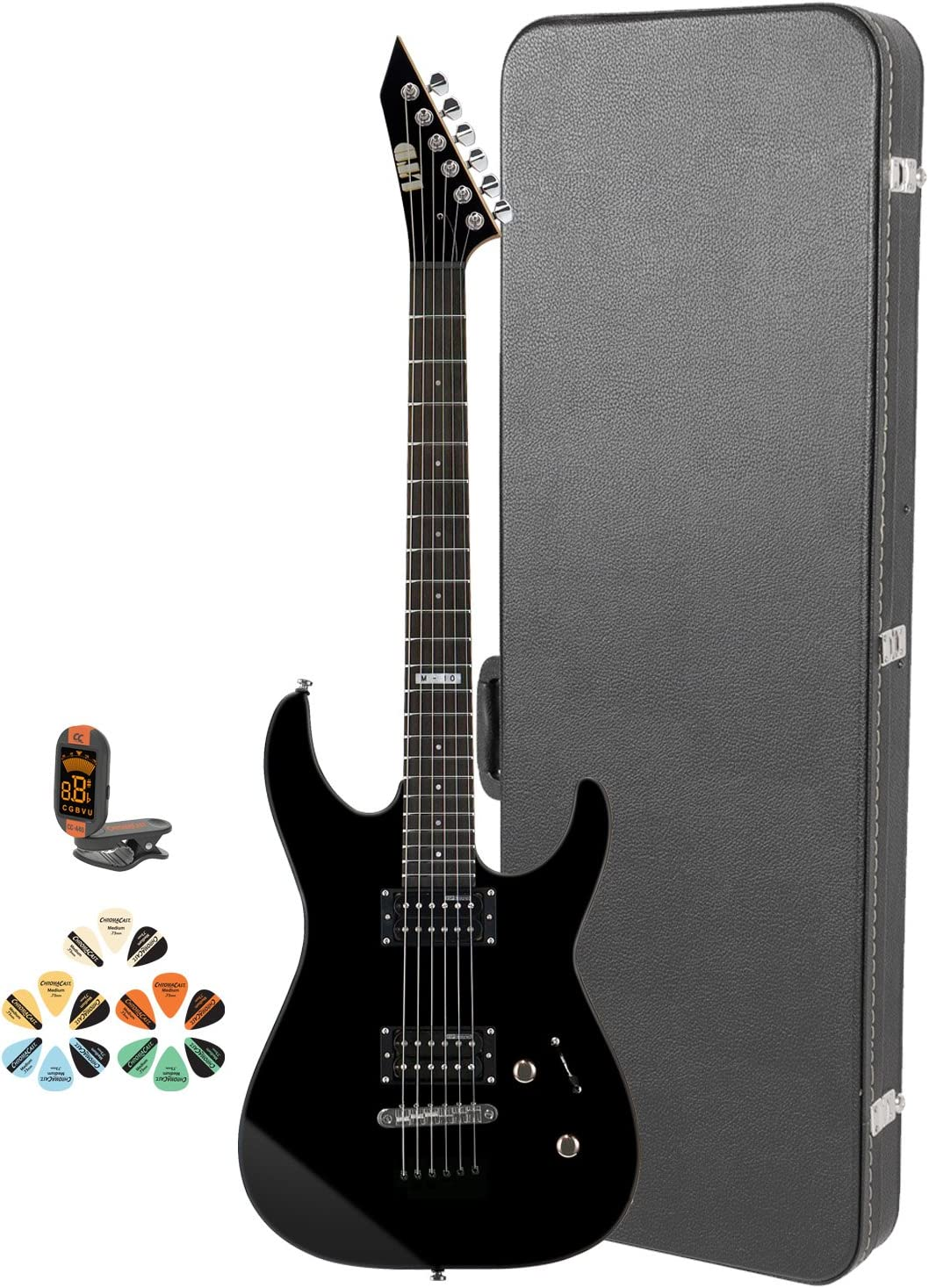 ESP M JB-M10KIT-BLK-KIT-4 Electric Guitar National products Tuner with and Cheap super special price Picks
